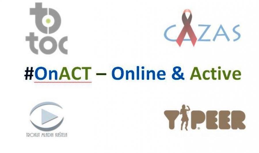 Poziv za prijave: #OnACT – Online & Active